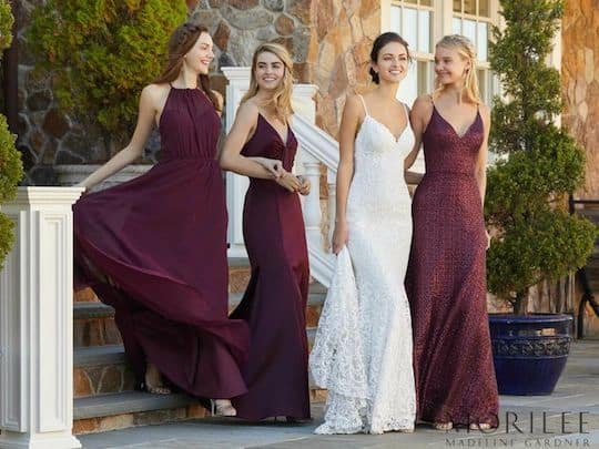 Our Fall Bridesmaid and Mother collections have arrived in store! We are excited to have the newest styles and colour options for those planning Fall and Winter weddings as well as those planning for 2019.